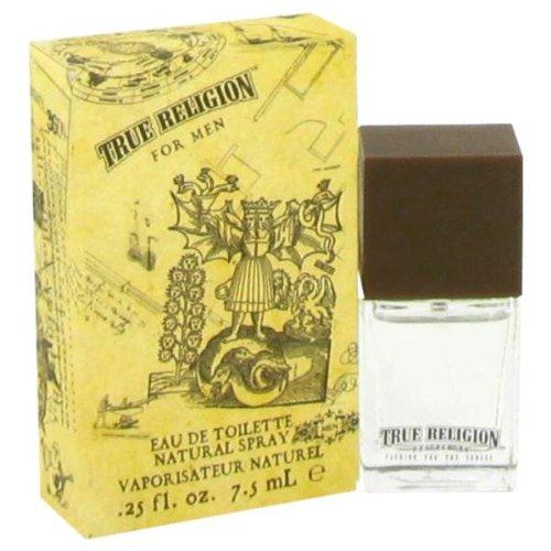TRUE RELIGION by True Religion EDT SPRAY .25 OZ MINI for (0.25 Ounce Edt Spray)