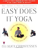 Easy Does It Yoga, Alice Christensen, 0684848902