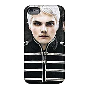 Shock Absorption Hard Cell-phone Cases For Iphone 6plus With Unique Design High Resolution My Chemical Romance Band Skin CharlesPoirier