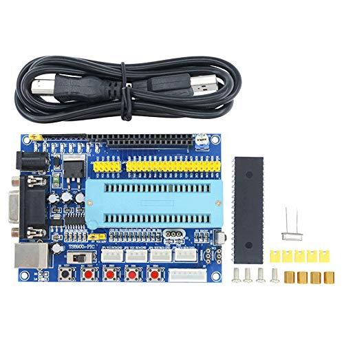 1Set USB PIC Development Board PIC16F877A 12V DC JTAG Minimum System Microcontroller Module MAX3232 ISP IO ICSP Program Emulator