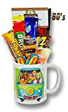 Scooby Doo Mug with Ghostly Selection of 1980's Retro Sweets.