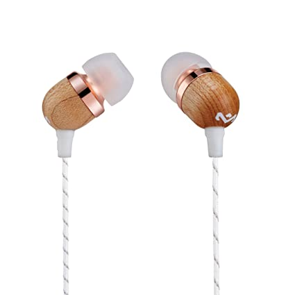 72df7c7c10a House of Marley, Smile Jamaica Wired In-Ear Headphones - In-line Microphone