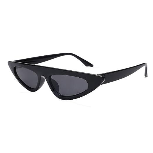 0f31f44168a Women Fashion Unisex Cat Eye Shades Sunglasses Integrated UV Glasses Black