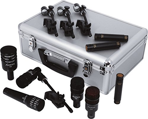 Audix DP Elite 8 Drum Microphone Pack (Tom Case Rack)