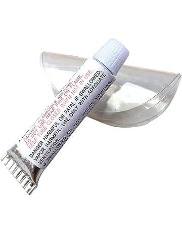 Domeilleur - Kit de reparación de vinilos inflables para Piscina, Kit de reparación de Barcos