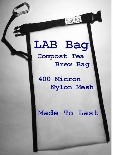 Compost Tea Brew Bag : Made To Last in the USA (5 Gallon Bucket Sized (9