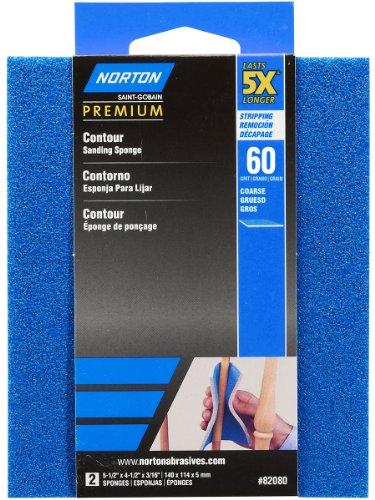 Best Buy! Norton 82080 5X 60 Grit Contour Sanding Pads