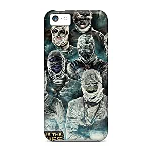 Perfect Hard Phone Case For Iphone 5c (ZmQ13822QGGn) Allow Personal Design Vivid Breaking Benjamin Pattern