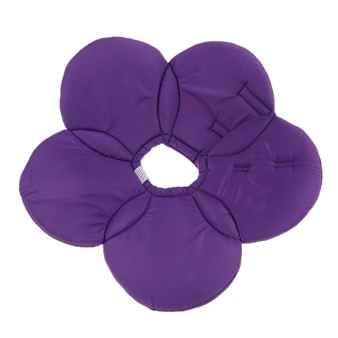 Baoblaze Blume Design Halskrause Schutzkragen Leckschutz Kratzschutz für Hunde Katze, Größe S-L