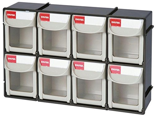 Shuter 1010017 Bins Flip Outs 8 Compartment (Tip Out Storage Bin)