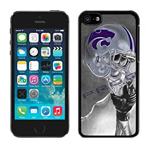 Hot Sale iPhone 5C Cover Case Big 12 Conference Big12 Football Kansas State Wildcats 4 Protective Cell Phone Hardshell Cover Case For iPhone 5C Black Unique And Durable Designed Phone Case