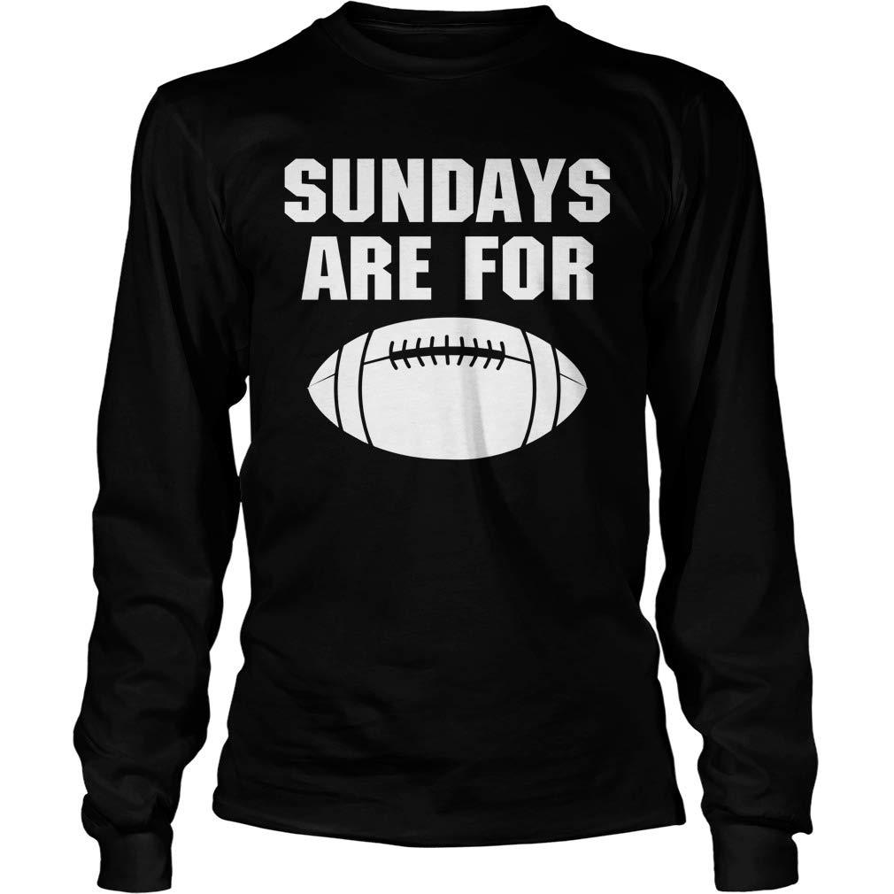 Shirts Gifts American Football Mishozi Sunday are American Football Long Sleeve T-Shirt Unisex