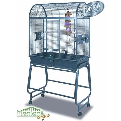Montana San Diego - Jaula de Pájaros - Techo redonda para Parrot ...