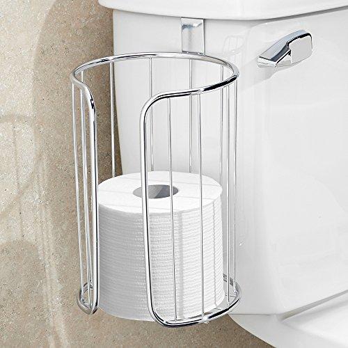 Interdesign classico toilet paper roll holder for bathroom for Storage for toilet rolls