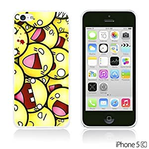 OnlineBestDigitalTM - Funny Pattern Hardback Case for Apple iPhone 5C - Funny Smily Faces