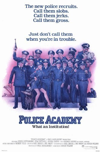 Police Academy POSTER Movie (11 x 17 Inches - 28cm x 44cm) (1984)