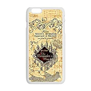 diy zhengHappy Harry Potter map Phone Case for iPhone 6 Plus Case 5.5 Inch