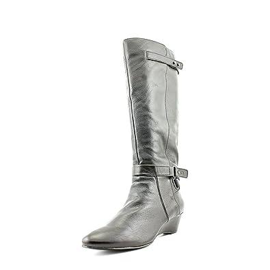1836a4305f05df Bandolino Alvaw Damen Rund Leder Mode-Knie hoch Stiefel Ohne Karton ...