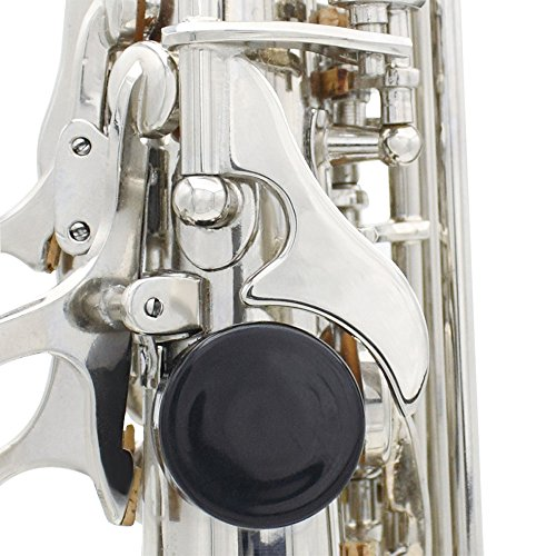 LADE Soprano Saxophone SAX Bb Brass Lacquered Body and Keys with Lubricating Cork Grease by LADE (Image #5)