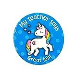 250 Children's School Stickers Student Encouragement ''Great Job!'' Motivational Kid's Stickers