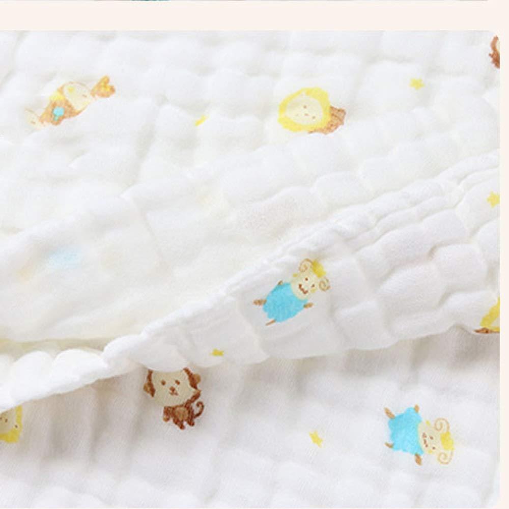 Xcvdsfg Bebé Recién Nacido Toalla De Baño De Algodón Súper Suave Absorbente Niños Gasa Edredón Baby Shower Toalla Grande (Color : B): Amazon.es: Hogar
