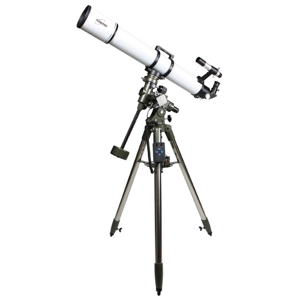 GGPUS Focal Length 920Mm, 630 Finder Mirror, 360 Degree Rotation, Telescope Refracting Telescope Adjustable Portable Travel Telescopes for Astronomy with Equatorial Mount by GGPUS