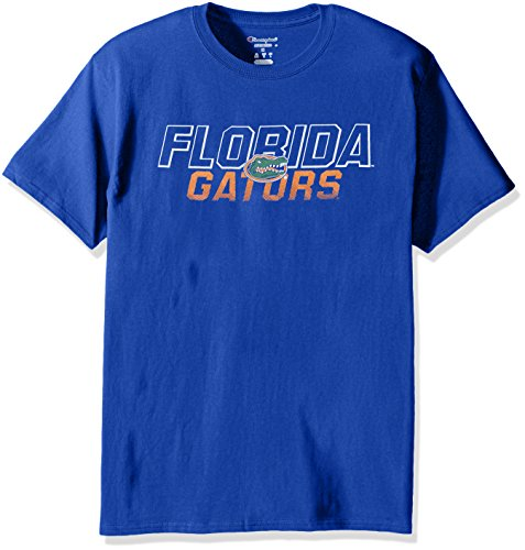 - Champion NCAA Men's Short Sleeve Graphic T-Shirt Florida Gators Small