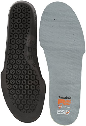Timberland PRO Anti-Fatigue Technology Esd Insole, Black, Medium M US