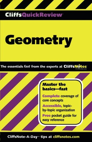 Pdf Teen CliffsQuickReview Geometry (Cliffs Quick Review (Paperback))