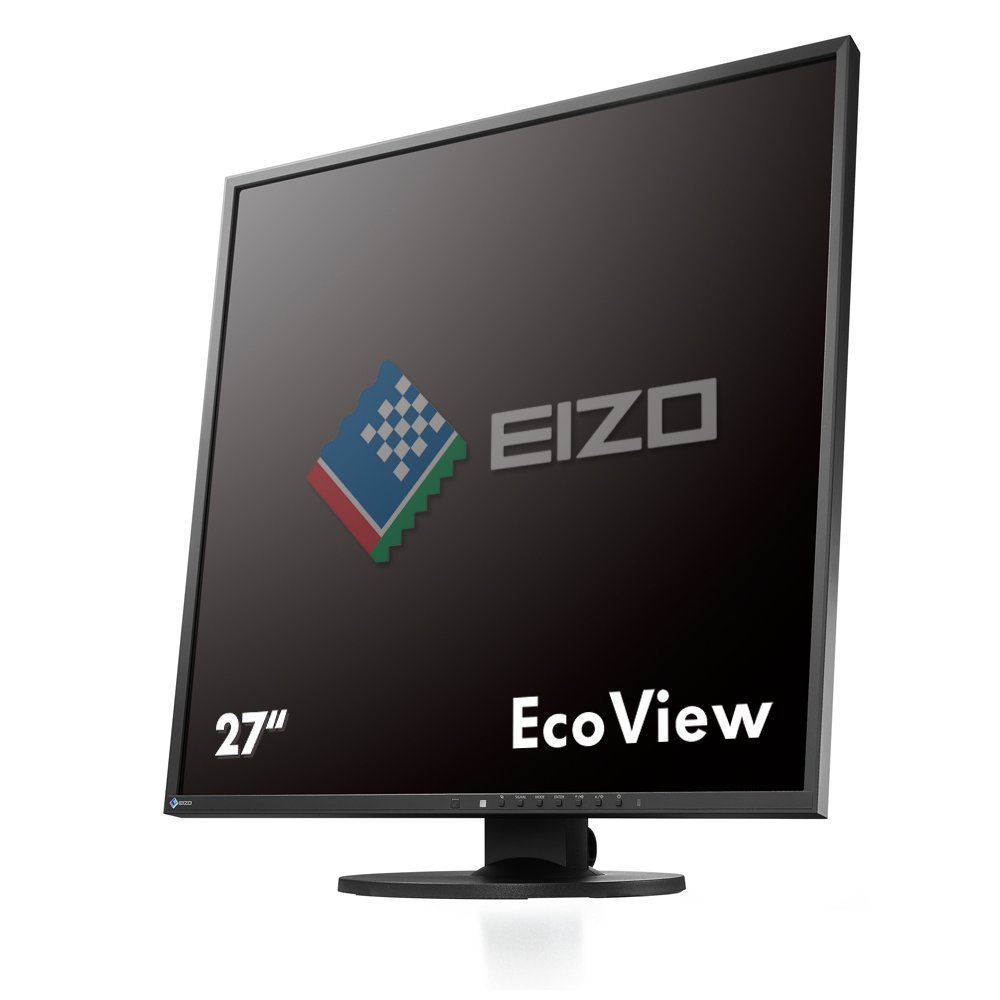 "EIZO FlexScan EV2730QFX 26.5"" Square IPS Monitor 1920x1920 (EV2730QFX-BK)"