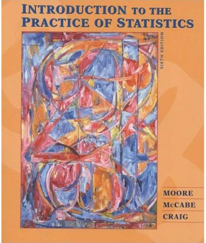 Introduction to the Practice of Statistics w/CD