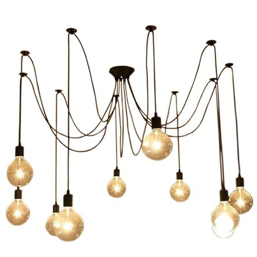 10pcs E27 Douille Eclairage De Plafond Retro Suspensions Luminaires Vintage Plafonnier Lustre Plafond Lumiere Antique Plafonnier Luminaire Retro