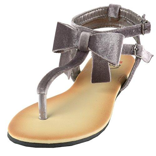 ... Sandali Con Fiocco In Velluto Da Donna Svizzero Alpino Sandali Con  Tacco A Strappo Per Gladiatore ... 0dfec77e698