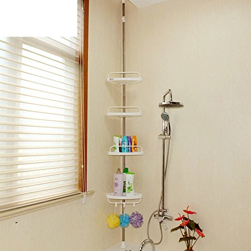 Well Wreapped Bathroom Storage Corner/Bathroom Corner Shelf Bathroom  Finishing Racks/shelf /