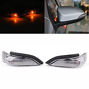 2x Side Door Mirror Indicator Turn Signal Light For Toyota Camry