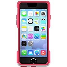 OtterBox COMMUTER SERIES iPhone 6/6s Case - Retail Packaging - NEON ROSE (WHISPER WHITE/BLAZE PINK)