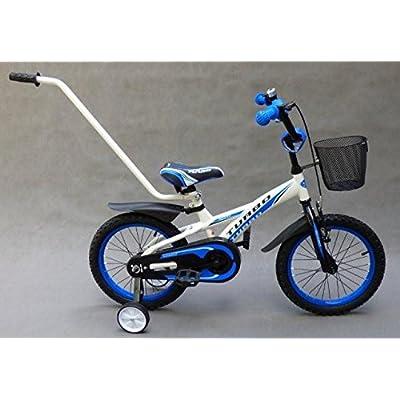 'Vélo pour enfant 16garçon de vélo Blanc Bleu