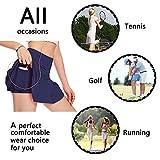 Womens Tennis Skirt Athletic Skort Golf Shorts