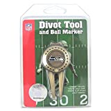 Seattle Seahawks Golf Divot Tool with Golf Ball Marker