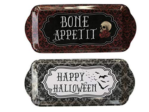 Halloween Set of Two - Melamine Serving Tray