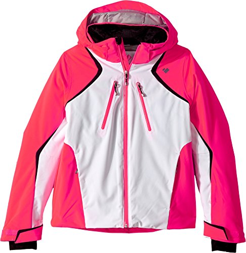 s Gray Jacket (Little Kids/Big Kids) Popstar Pink X-Small ()