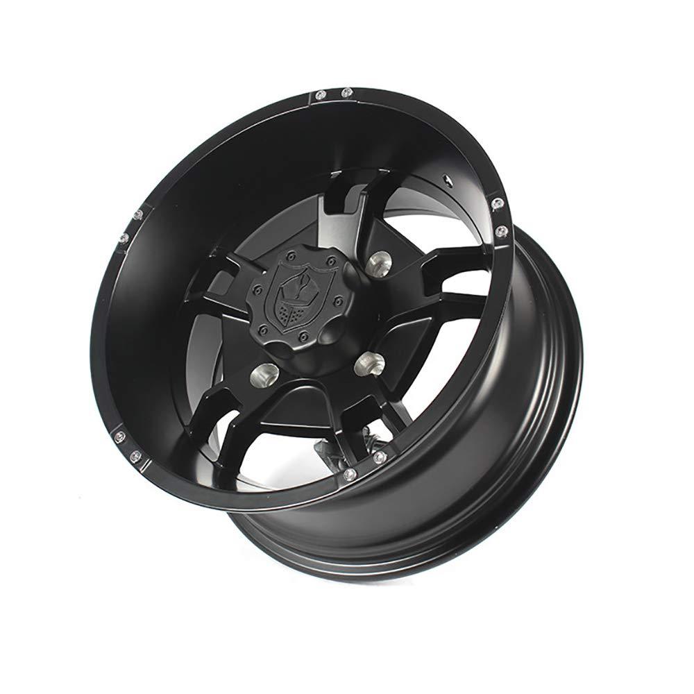 for Can-Am Maverick Max X3 Pro Armor CA1407RYBL 14 Ryder UTV Wheel Rim Front 14x7 Matte Black 4x137 Lug Pattern