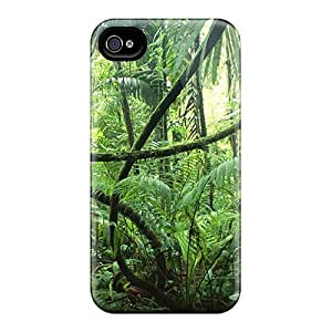 Hot HXRLiLx3430vACbw Case Cover Protector For Iphone 4/4s- Forest 2