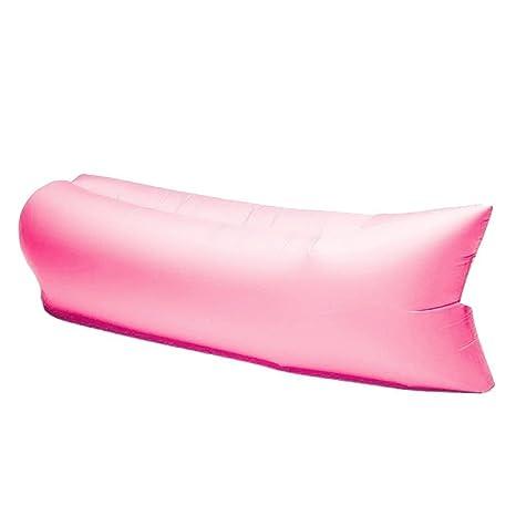 YINGMAN Hangout sofá cama hinchable silla colchón de aire dormir Lazy tumbona o casa Camping Playa