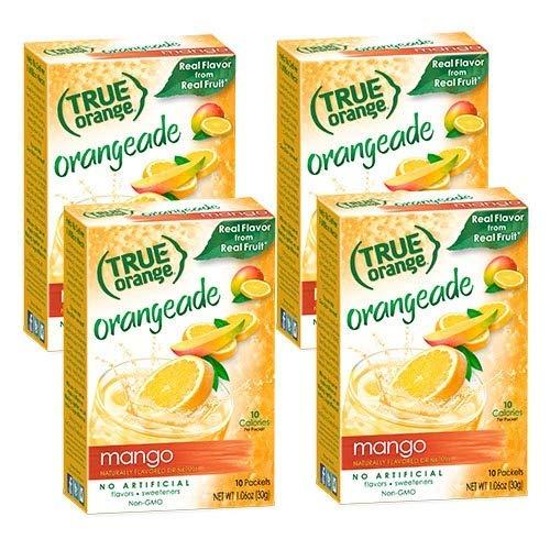 True Orange, Mango Orange Drink Mix, 10-count (Pack of 4) ()