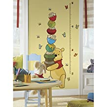 RoomMates RMK1501GC Pooh and Friends Peel and Stick Growth Chart