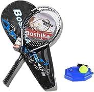 Abarich Aluminum Alloy Tennis Racket Lightweight Shockproof Tennis Racquet with Training Tennis Carry Bag and