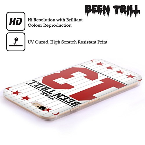 Official Been Trill Star Stripe Jersey Soft Gel Case for Apple iPhone 6 / 6s