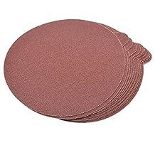 "HQRP 6-Inch 80-Grit 120-Grit 240-Grit Self Stick Sanding Discs for Ingersoll-Rand 4151 Random Orbit Sander Sandpaper 6"", 30 Pack, 10 Each of 3 Grits"