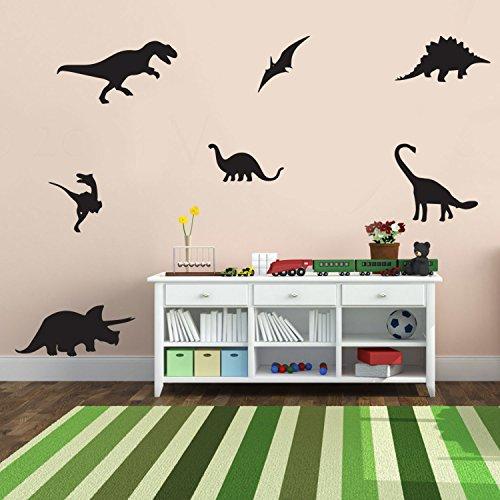 (7 Pack Dinosaurs Vinyl Wall Art Stickers - 5